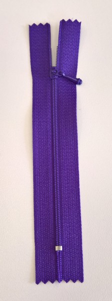 purple 4 inch zipper