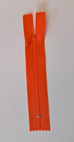 """Reißverschluß 4"""" orange"""