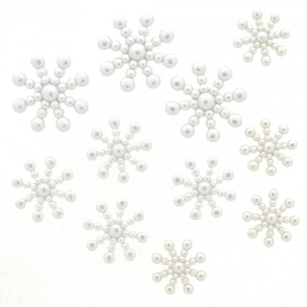 Pearl Snowflakes