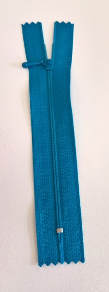 turquoise4 inch zipper