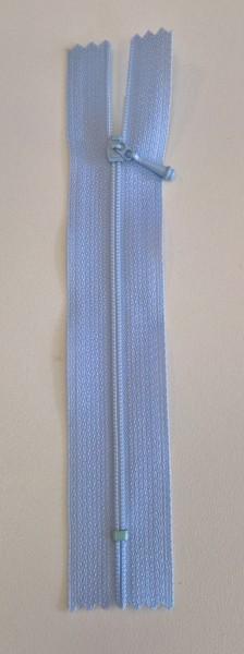 light blue 4 inch zipper