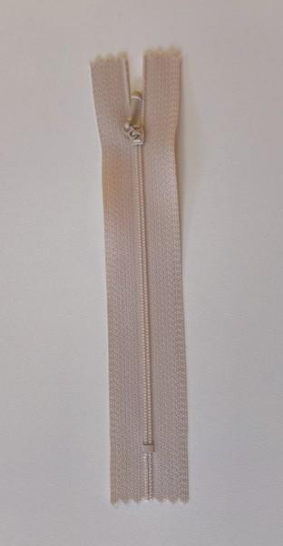 tan 4 inch zipper