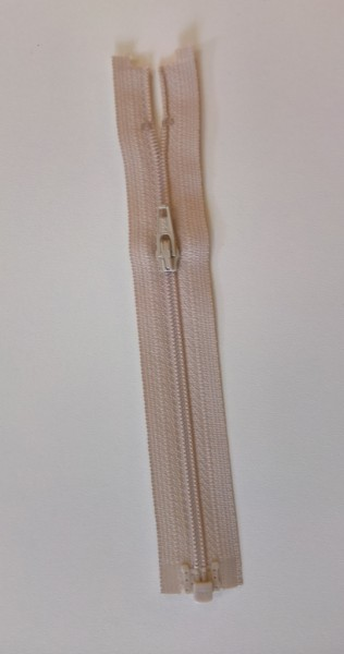 tan 6 inch zipper