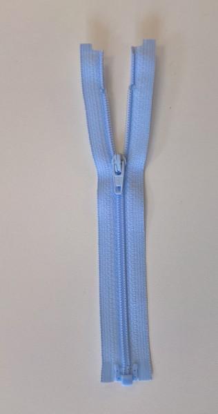 light blue 6 inch zipper