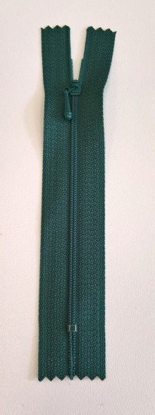 Dark green 4 inch zipper
