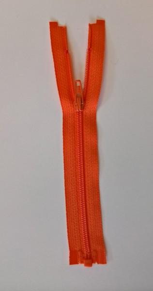 orange 6 inch zipper