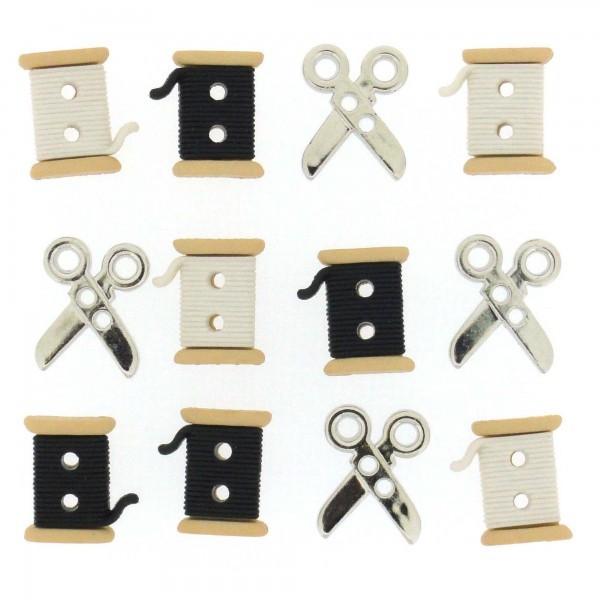 Sew Cute Spools/Scissors