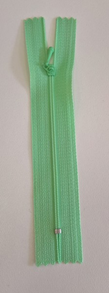 mint green 4 inch zipper